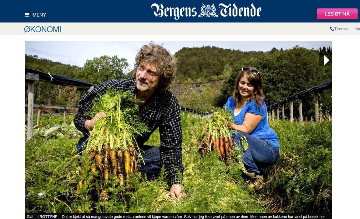 This is Norway�s Most Expensive Carrot: 100 NOK Per Kilo
