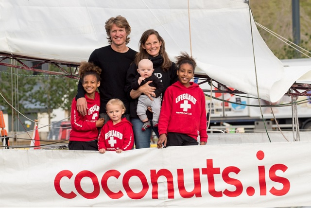 Meet the Coconuts: With a Sailing Boat to Norway