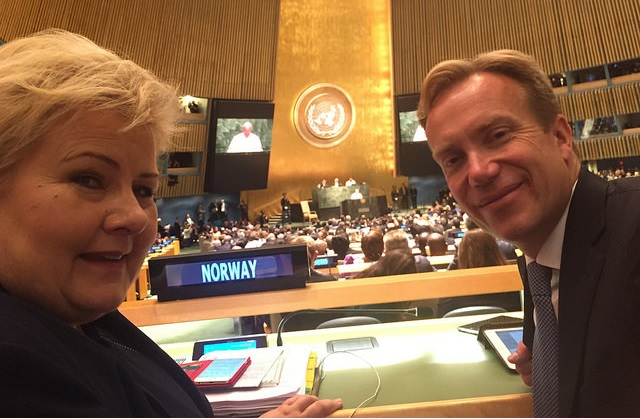 Norway is Content with New Ambitious UN Sustainability Goals