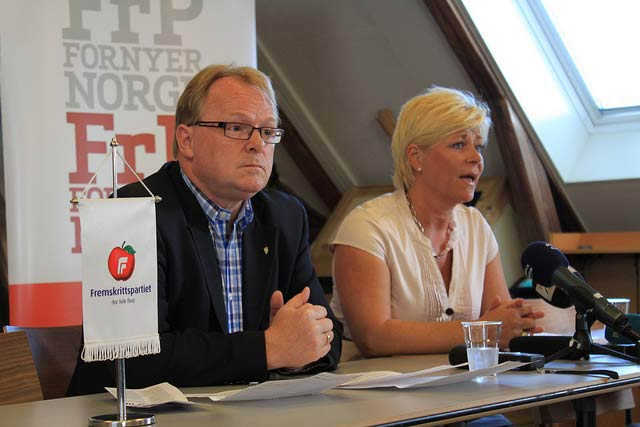 FRP Threatens to Withdraw from Government in Norway