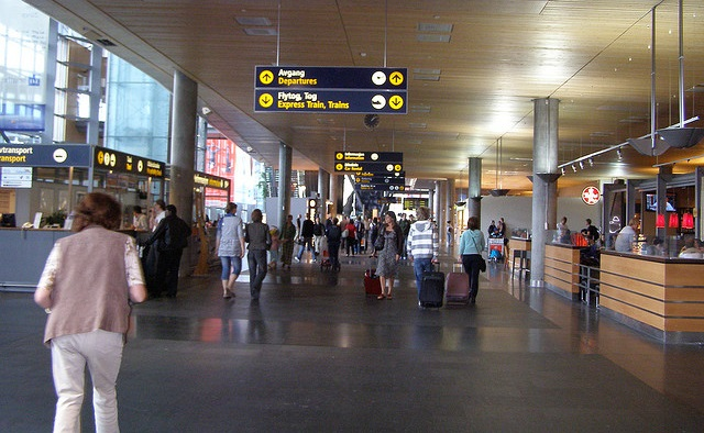 Delayed Passenger Triggered Fire Alarm at Oslo Airport