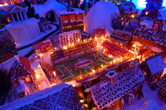 Gingerbread Town in Bergen: A Little Fairy Tale
