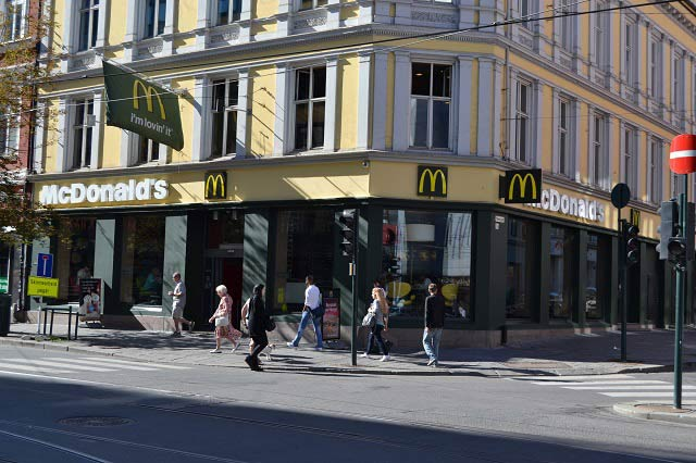 McDonald�s is Sued in Norway for Selling Cheap Burger
