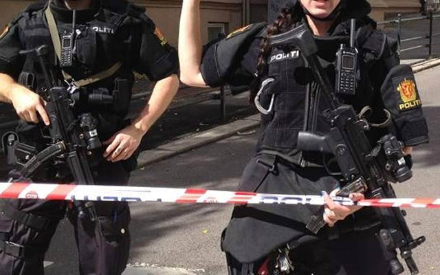 Norway Police Gun Use Attracts International Attention