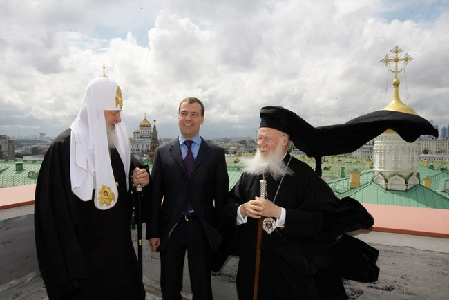 Church Diplomacy: The Rebirth of the Patriarch of Moscow
