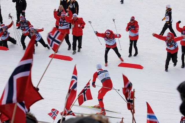 Norway is the Leader at Winter Olympics