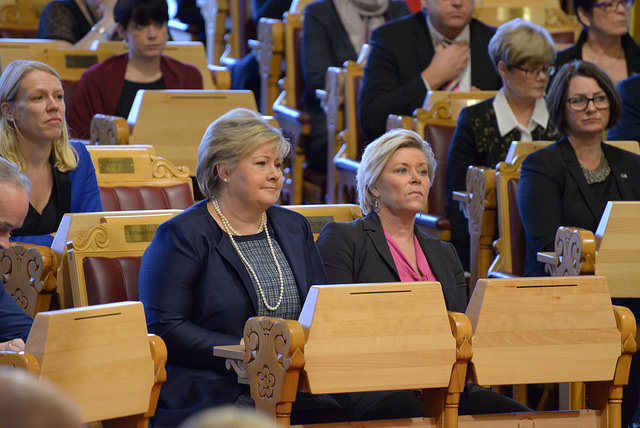 5 out of 8 Parties in Norway are Led by Women Now